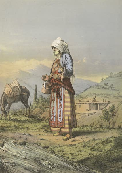 The Oriental Album - Armenian Peasant Woman (1862)
