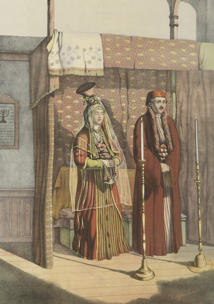 The Oriental Album - Jewish Marriage (1862)