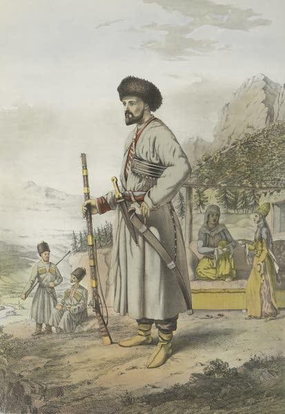 The Oriental Album - Circassian Warrior (1862)