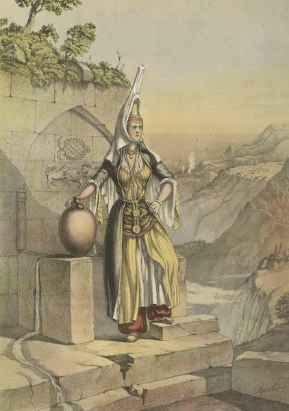 The Oriental Album - Druse Girl (1862)