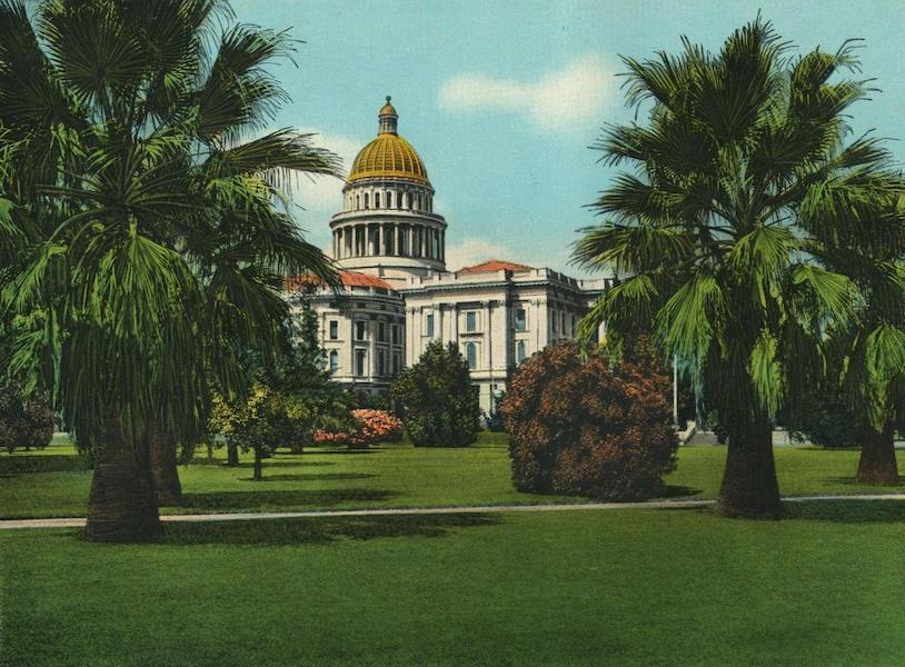 The Overland Trail - State Capital, Sacramento, Cal. (1920)