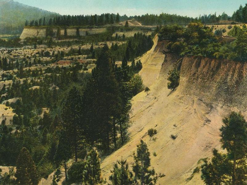 The Overland Trail - The Old Gold Fields of '49 between Dutch Flat and Gold Run (1920)