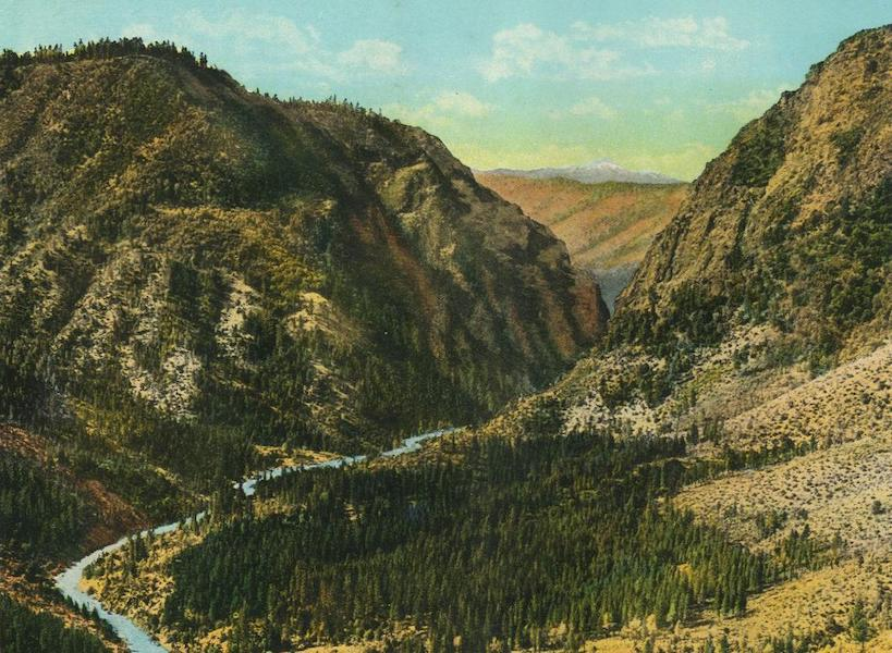 The Overland Trail - Giant Gap, American River Canyon (1920)
