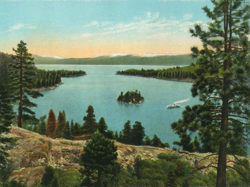 The Overland Trail - Emerald Bay and Lake Tahoe (1920)