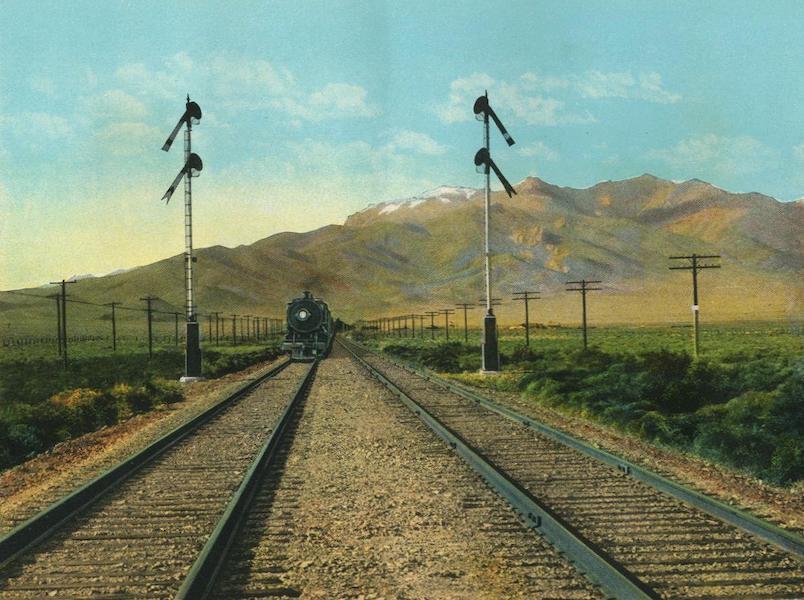 The Overland Trail - Humboldt Mountains, near Imlay, Nevada (1920)