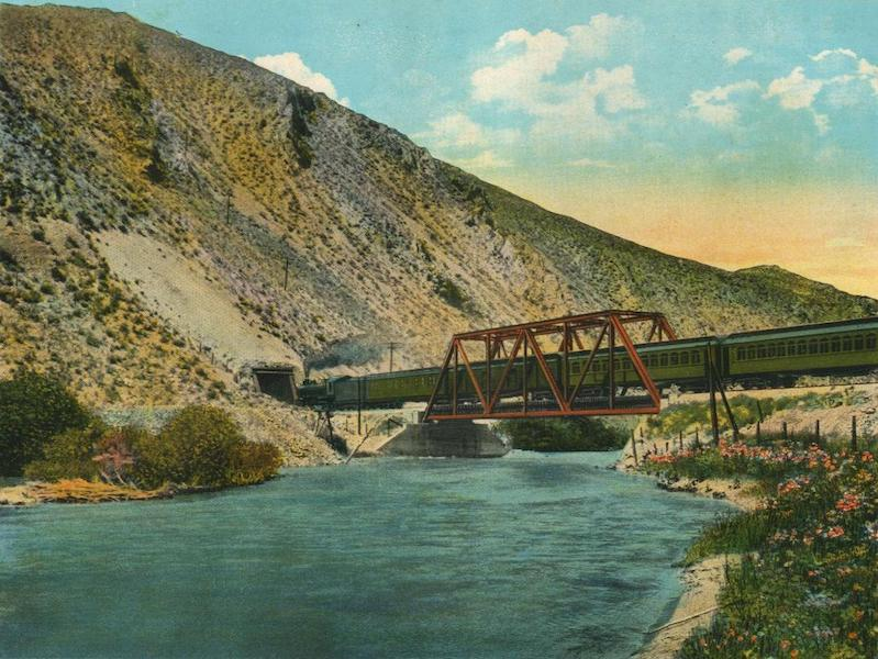 The Overland Trail - Tunnel No. 1 at Humboldt River, Ryndon, Nevada (1920)