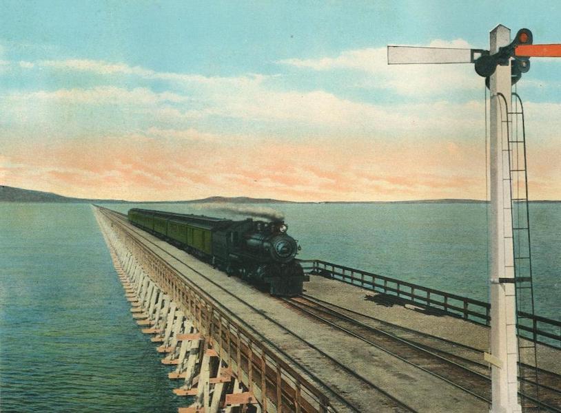 The Overland Trail - San Francisco Overland Limited, at Midlake, Utah (1920)