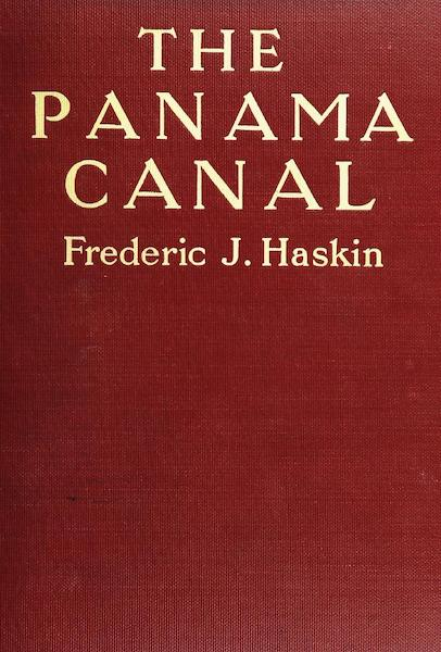 The Panama Canal - Front Cover (1913)
