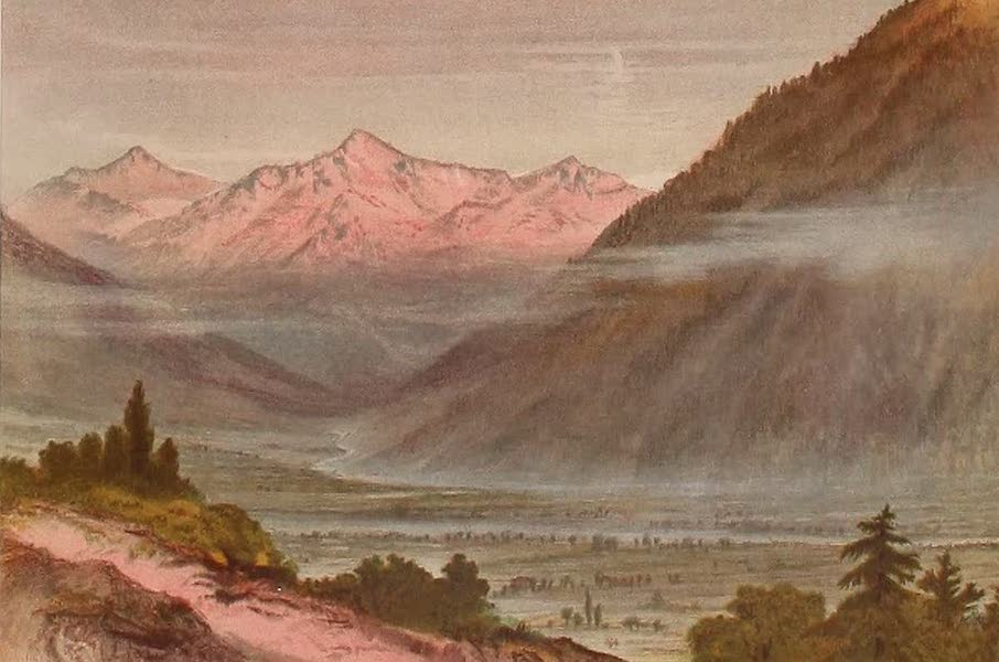 The Peaks & Valleys of the Alps - The Opening of the Val de Tignes (1868)