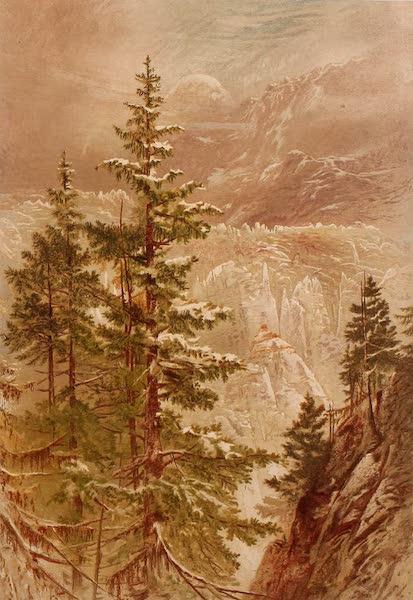 The Peaks & Valleys of the Alps - The Gorner Glacier (1868)