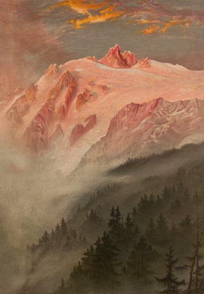 The Peaks & Valleys of the Alps - The Glacier de Trient (1868)