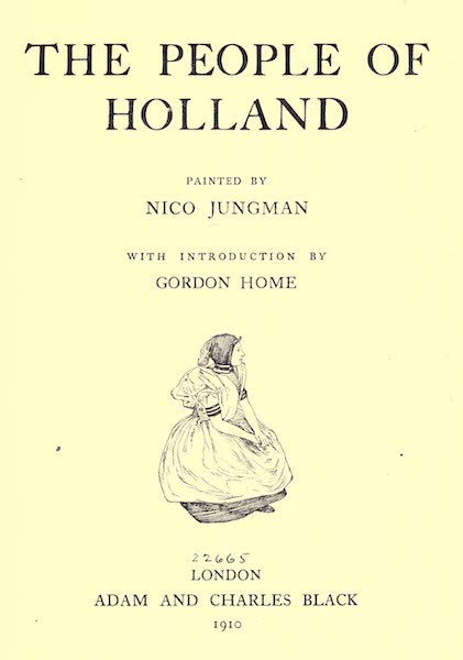 The People of Holland - Title Page (1910)