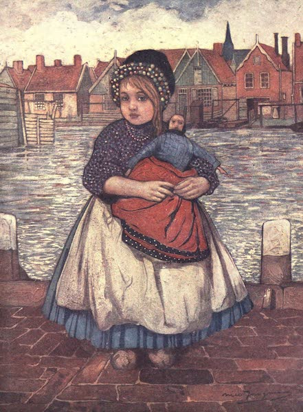 The People of Holland - A Girl with a Doll (1910)