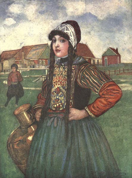The People of Holland - A Girl of Marken (1910)