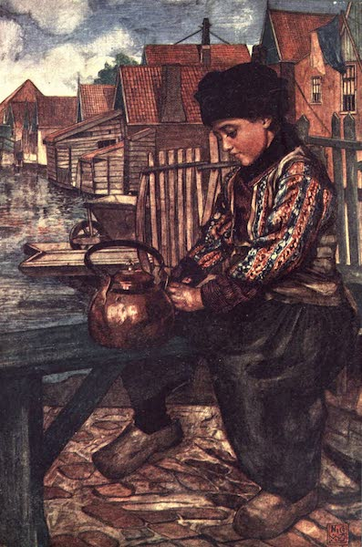 The People of Holland - A Boy Cleaning a Kettle (1910)
