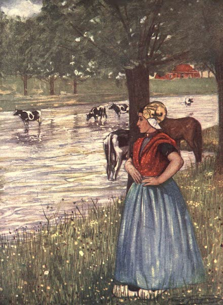 The People of Holland - A Peasant Girl of Goes (1910)