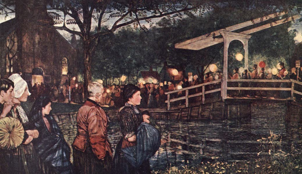 The People of Holland - Religious Procession I. (1910)