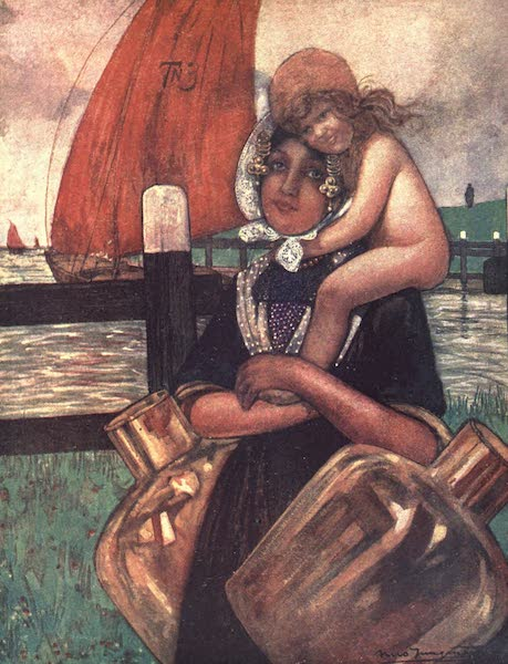The People of Holland - Mother and Baby (1910)