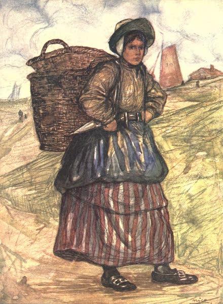 The People of Holland - A Fisherwoman of Zandvoort (1910)