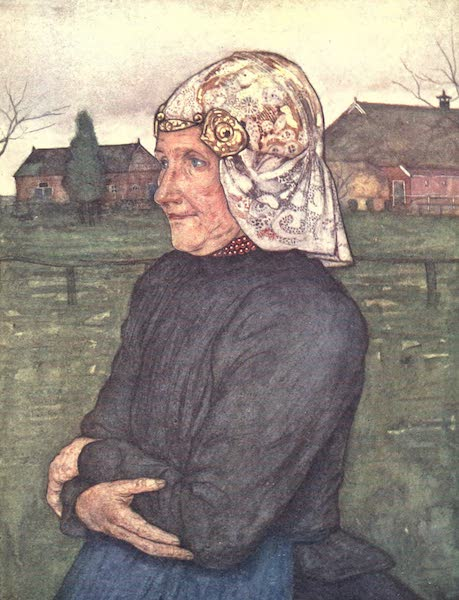 The People of Holland - Old Woman of Drenthe (1910)