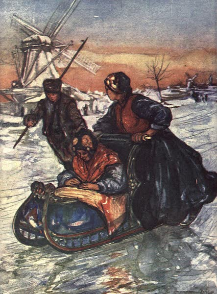 The People of Holland - A Race on Skates (1910)