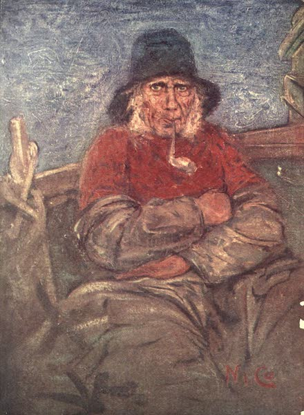 The People of Holland - An Old Fisherman of Scheveningen (1910)