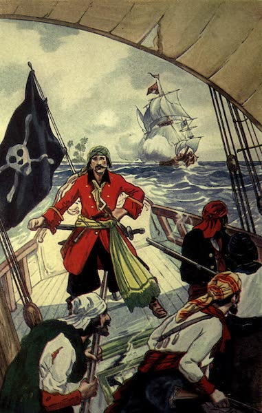 The Pirates of Panama - The Man-of-War gave them chase (1914)
