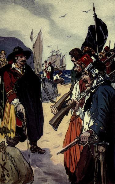 The Pirates of Panama - Captain Morgan recruiting his forces (1914)
