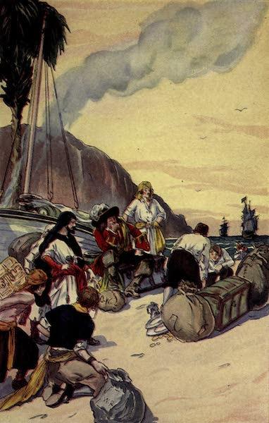 The Pirates of Panama - Morgan dividing the treasure taken at Maracaibo (1914)