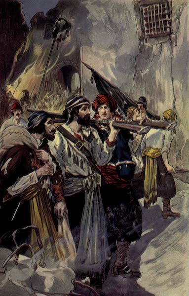 The Pirates of Panama - Morgan re-entered the city with his troops (1914)