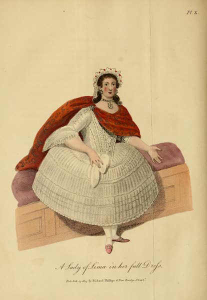 A Lady of Lima in her full Dress