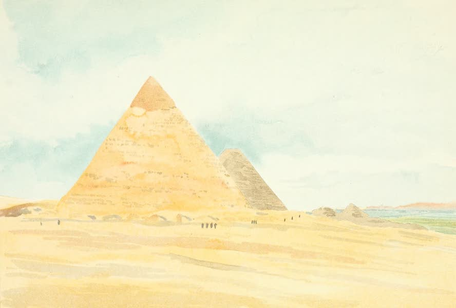 The Pyramid of Chephren