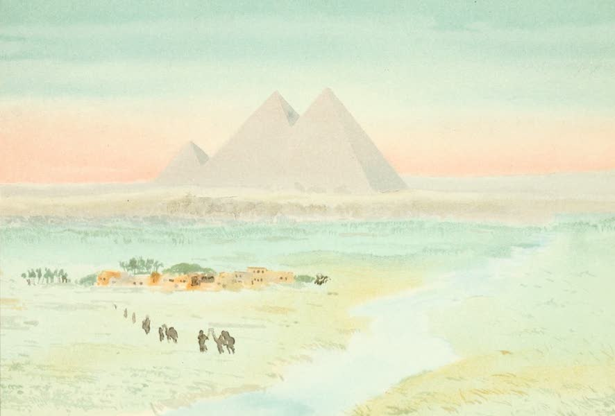 The Pyramids of Gizeh