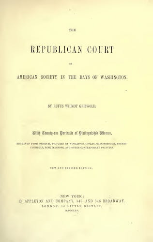 The Republican Court (1855)