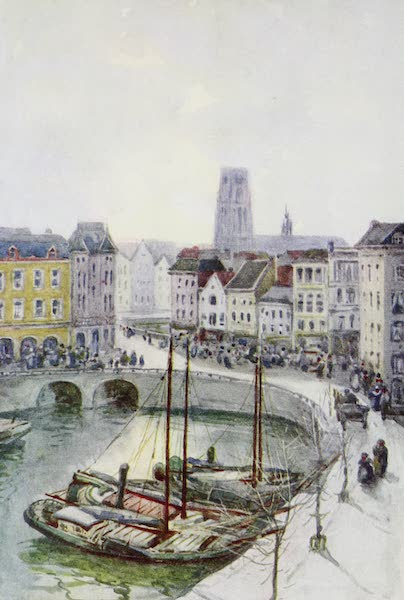 The Rhine - Rotterdam (The Quay) (1908)