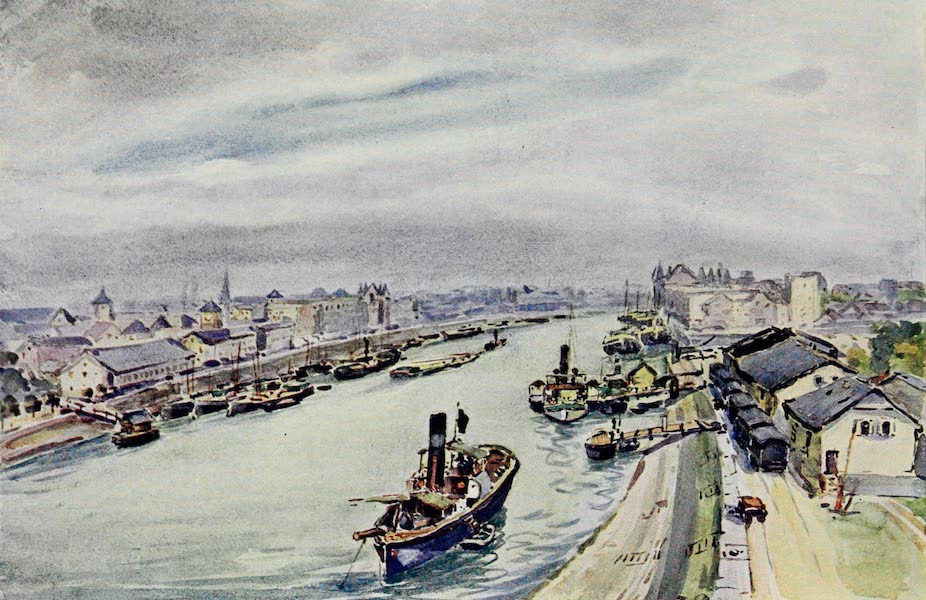 The Rhine - The Port: Mannheim (1908)