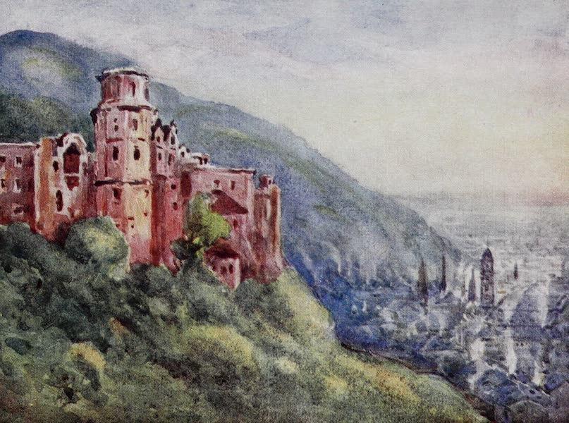 The Rhine - The Schloss, Heidelberg (1908)