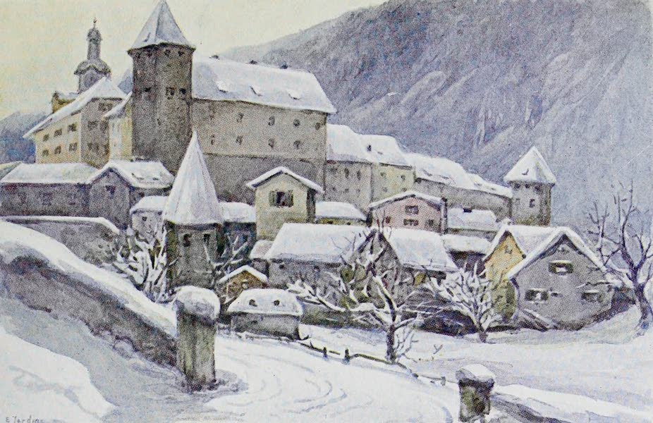The Rhine - Chur (Coire) : The Bishop's Palace (1908)