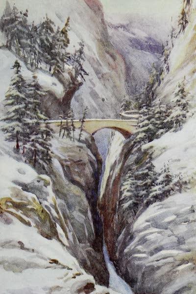 The Rhine - The Gorge of the Via Mala (1908)
