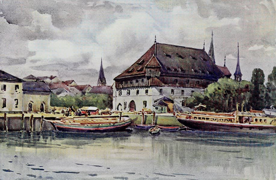 The Rhine - The Council Hall, Konstanz (Constance) (1908)