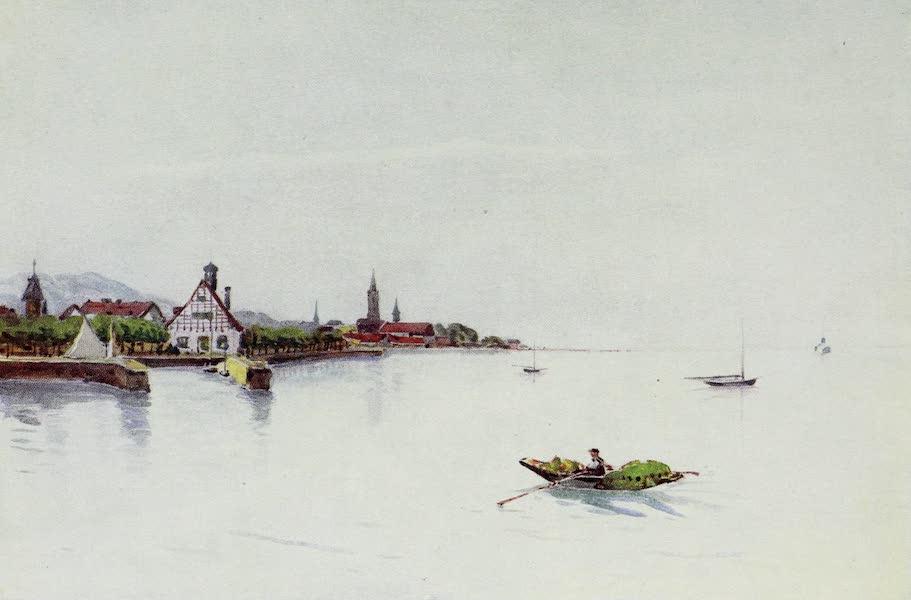 The Rhine - Bregenz, Boden See (Lake of Konstanz) (1908)