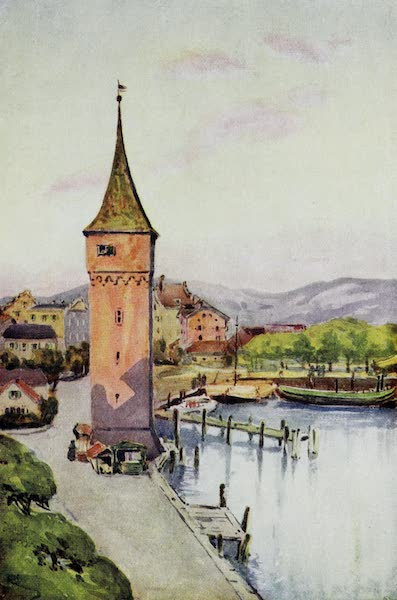 The Rhine - The Tower of Lindau on the Boden See (Lake of Konstanz) (1908)