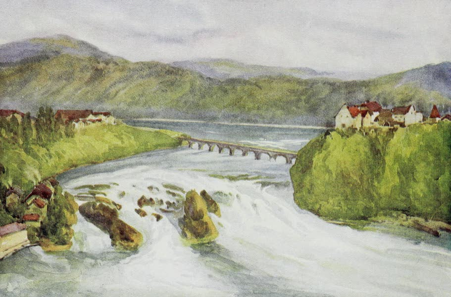 The Rhine - The Falls of the Rhine, Schaffhausen (1908)