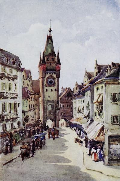 The Rhine - Old Tower, Freiburg-in-Breisgau (1908)