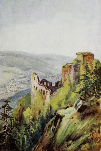 The Rhine - The Alte Schloss, Baden-Baden (1908)