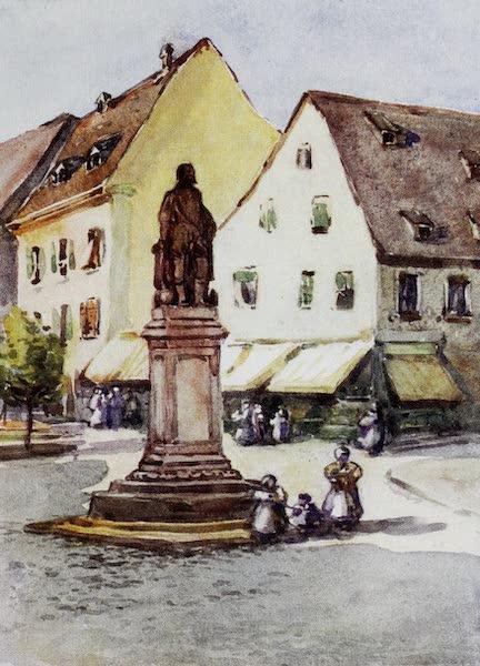 The Rhine - Statue of Sir Francis Drake, Offenburg (1908)