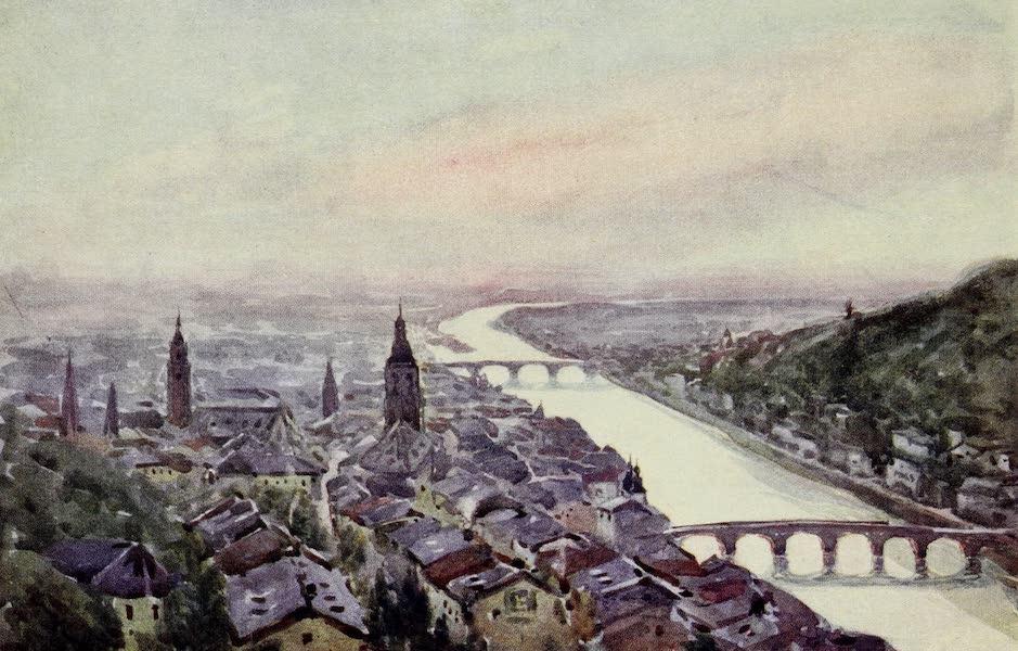 The Rhine - Heidelberg and the Neckar (1908)