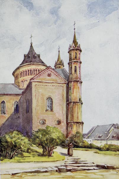 The Rhine - The Cathedral, Worms (1908)