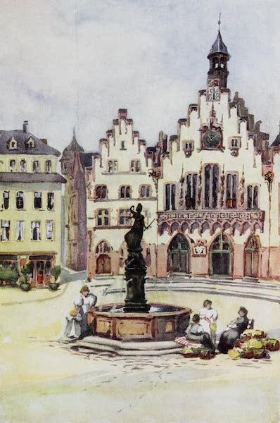 The Rhine - The Romer, Frankfurt (1908)