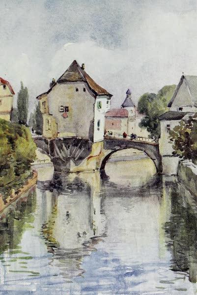 The Rhine - Old Bridge at Kreuznach (1908)